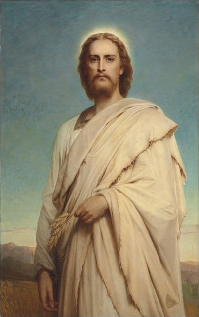 Frank Dicksee (1853-1928)_Christ_of_the_Cornfield
