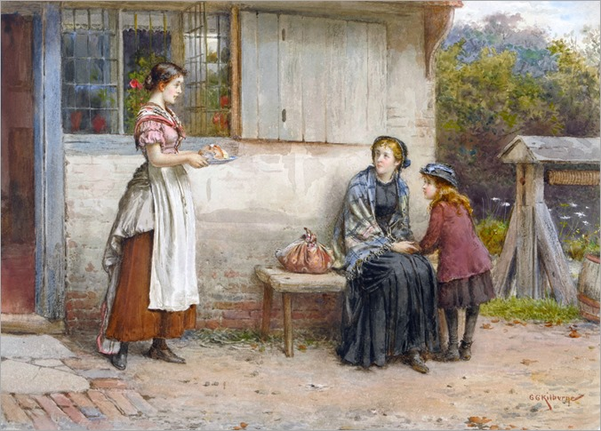 George Goodwin Kilburne - Charity