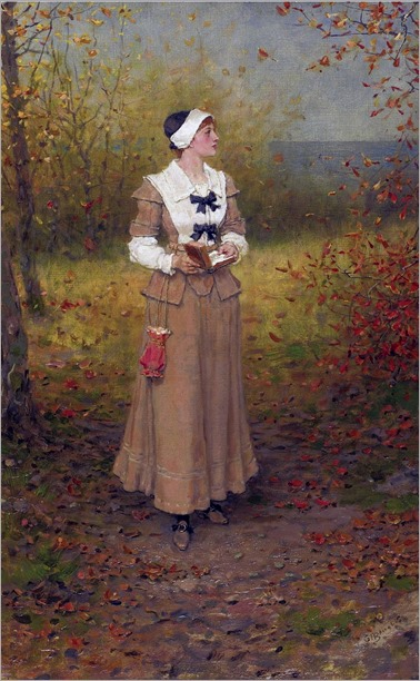 George Henry Boughton ((1833-1905) - Autumn