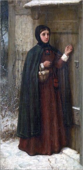 George Henry Boughton (1833-1905)- The Scarleet Letter