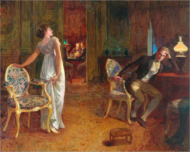 Henry Gillard Glindoni (1852-1913)- The Tiff