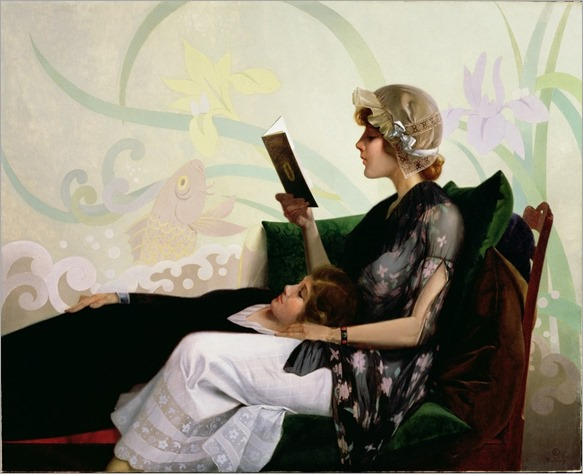Just a Couple of Girls (1915). Harry Wilson Watrous (American, 1857-1940)