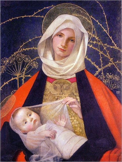 Marianne_Stokes_Madonna_and_Child