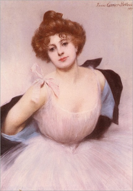 Portrait Of A Dancer- Pierre Carrier-Belleuse