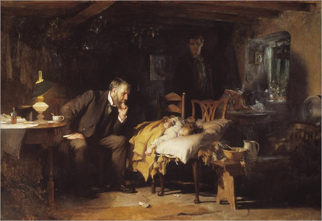 Sir Luke Fildes (1843-1927)- The Doctor 1891