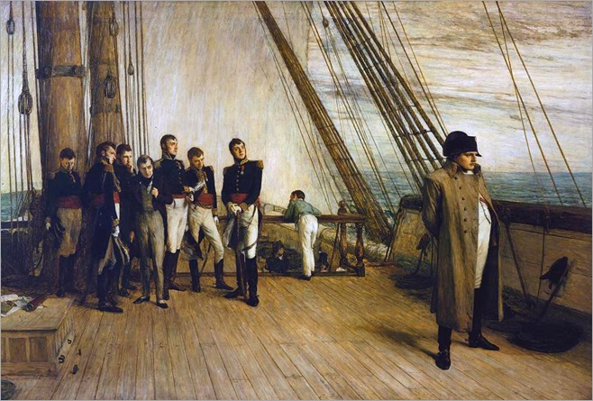 Sir William Quiller Orchardson (scottish, 1832-1910)- Napoleon on Board the Bellerophon 1880
