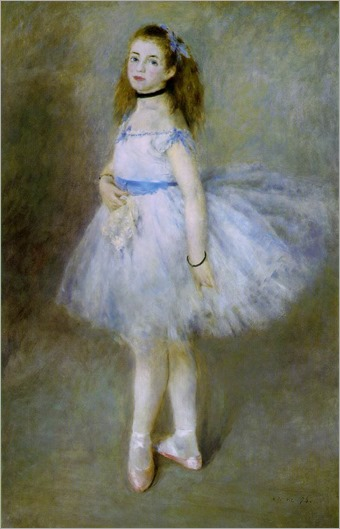 The Dancer (1874). Auguste Renoir (French, 1841-1919). Oil on canvas. National Gallery of Art