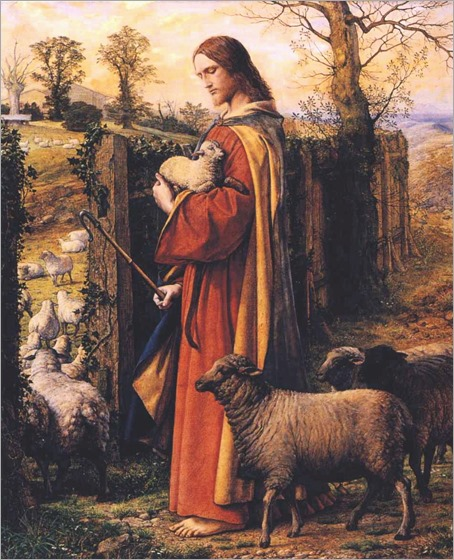 William Dyce - The Good Shepherd