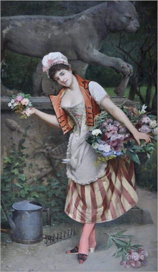 2-Arturo Orselli-The flower seller