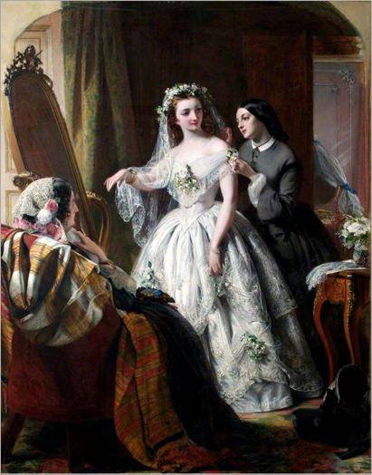 Abraham Solomon (1824-1862) - The bride