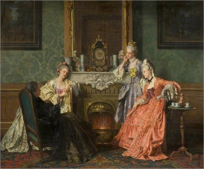 Afternoon Tea, Jean Carolus, 1879