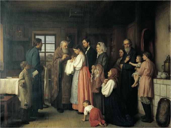 Akim Karneev - Christening