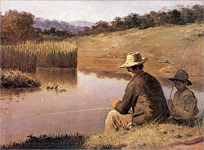 Almeida_Júnior_-_Pescando,_1894