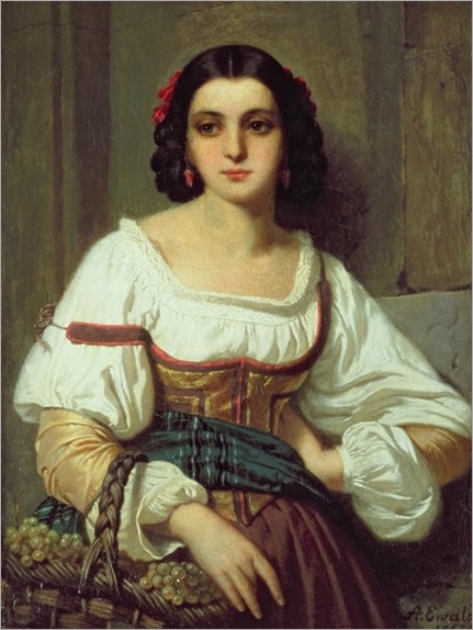 Arnold-Ferdinand-Ewald-(italian-woman-with-basket-of-grapes