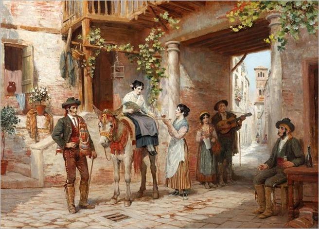 Arthur Trevor - Haddon In a Spanish Street
