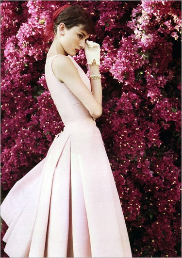 Audrey Hepburn photographed by Norman Parkinson, 1955