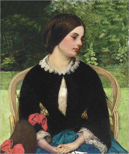 Augustus Leopold Egg (victorian painter, 1816-1863) - Contemplation