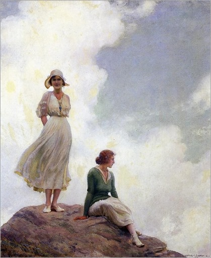 Charles Courtney Curran - The Boulder