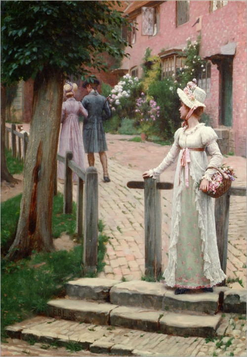 Edmund Blair Leighton - Sally