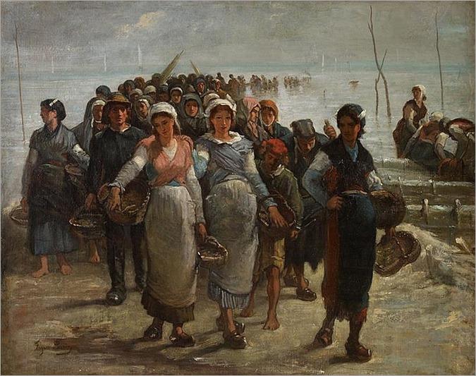 FRANÇOIS NICOLAS AUGUSTIN FEYEN-PERRIN (french 1826-1888) FRUITS DE MER