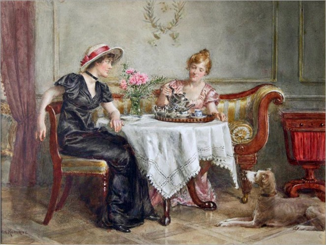 George Goodwin Kilburne - Tea for Two
