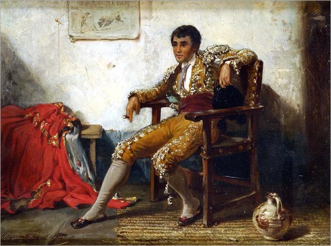 John Haynes Williams (1836 - 1908) The Matador