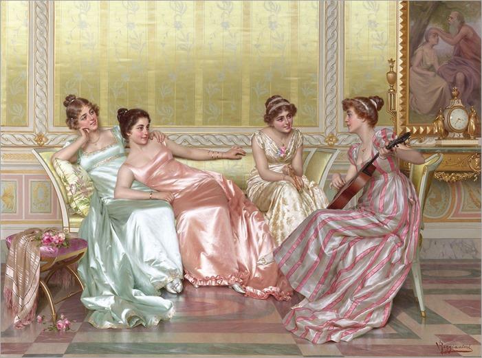 la-soiree-Vittorio-Reggianini-italian-1858-1938