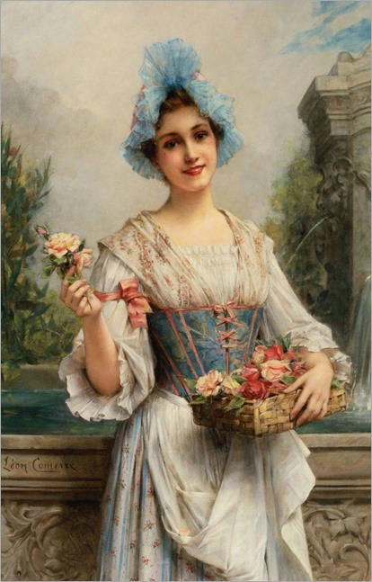 leon-f-comerre-the flower seller