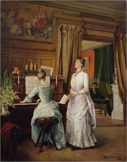 Mathilde-Dietrichson-women-in-the-music-room