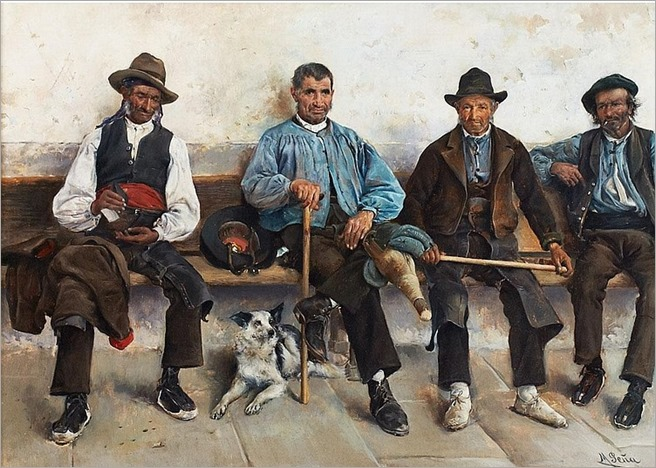 Maximino Pena Munoz (1863-1940), Spanish SIESTA