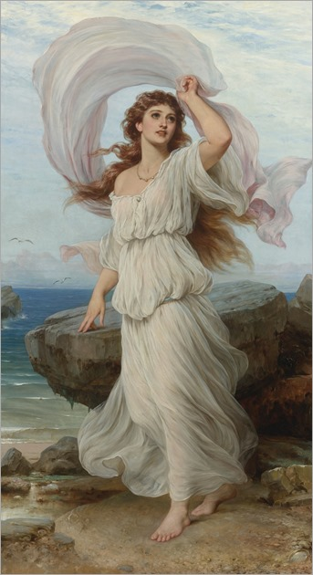 Miranda ( by 1895) -Thomas Francis Dicksee (1819-1895)