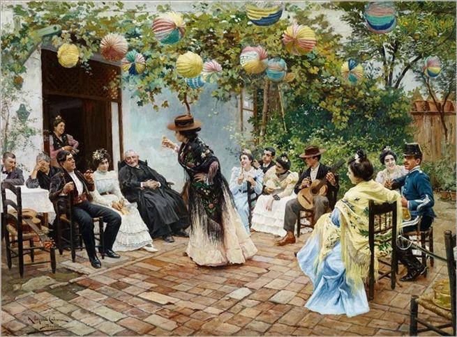 Ricardo Lopez Cabrera- Recién Casados. 1905