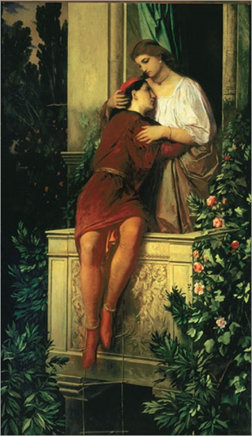 romeo and juliet_Anselm Feuerbach - Date unknown