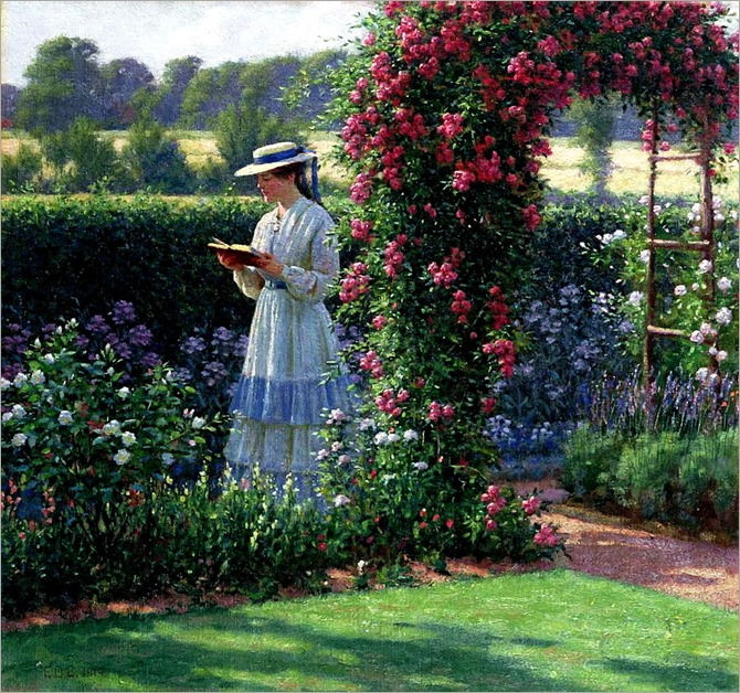 sweet solitude_Edmund Blair Leighton