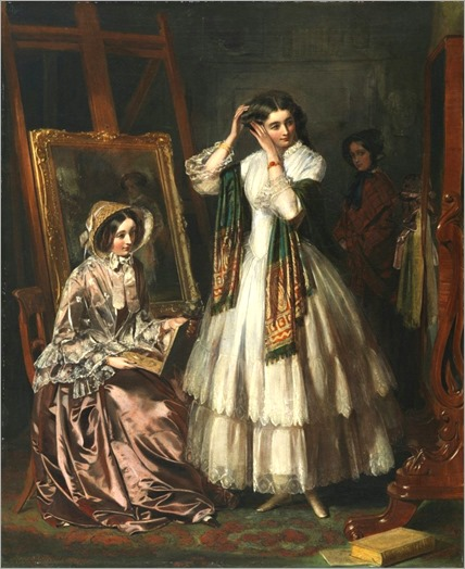 the-eve-of-the-wedding-1852-Jerry_Barrett