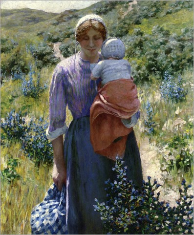 The Wayfarers -1890- George Hitchcock (american painter)