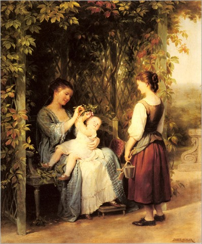 Tickling the Baby_Zuber-Buhler