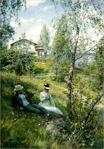 Villa Bjorkbacken vid Sommen - Johan Krouthen-1892