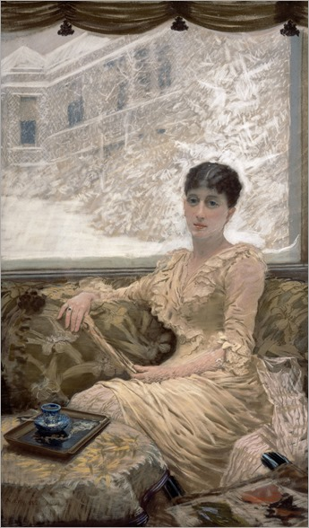 Winter Day - 1882 - Giuseppe de Nittis (italian painter)