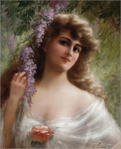 a maiden under the wisteria_Emile Vernon