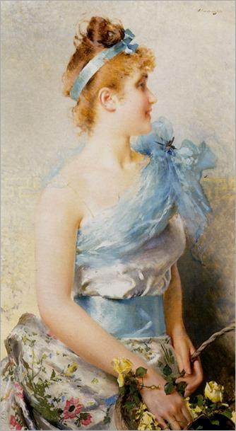 A Spring Beauty-1888-Vittorio Matteo Corcos