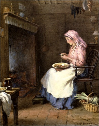 Blacklock_William_Kay_A_Woman_Peeling_Vegetables