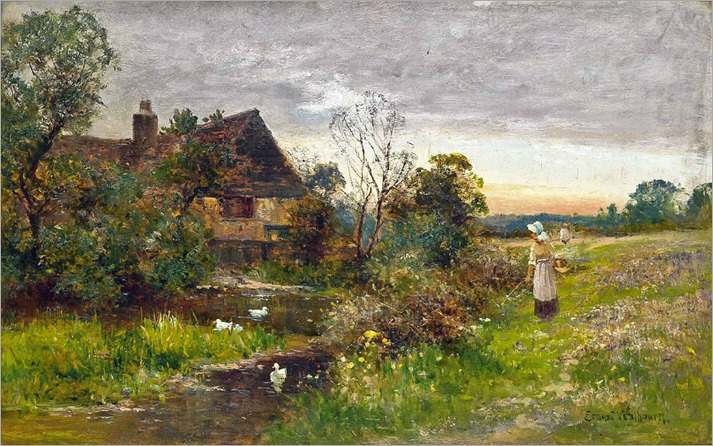 Ernest Walbourn - A Walk along the River