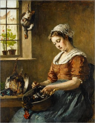 _Heinrich_Weber_THE_KITCHEN_MAID