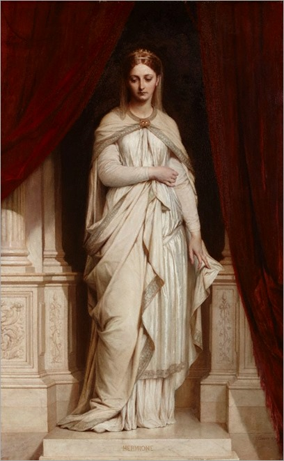 Hermione - 1874 by Thomas Francis Dicksee