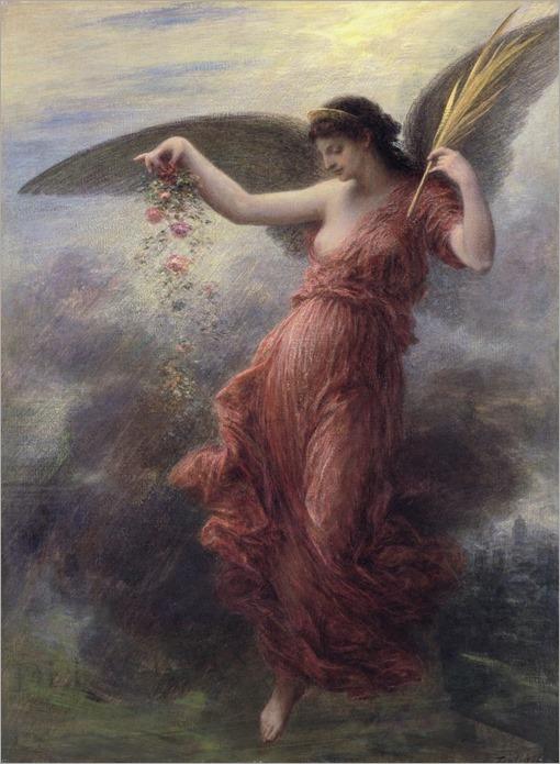 Immortality (1889)- Henri Jean Théodore Fantin- Latour