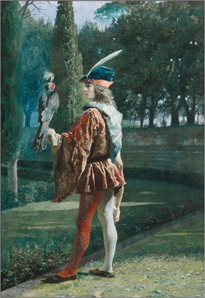 Jose Tapiro y Baro_The Falconer