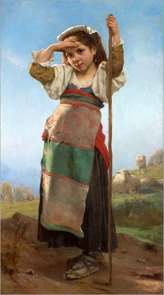 JovemPastora-1878-Charles Victor Thirion