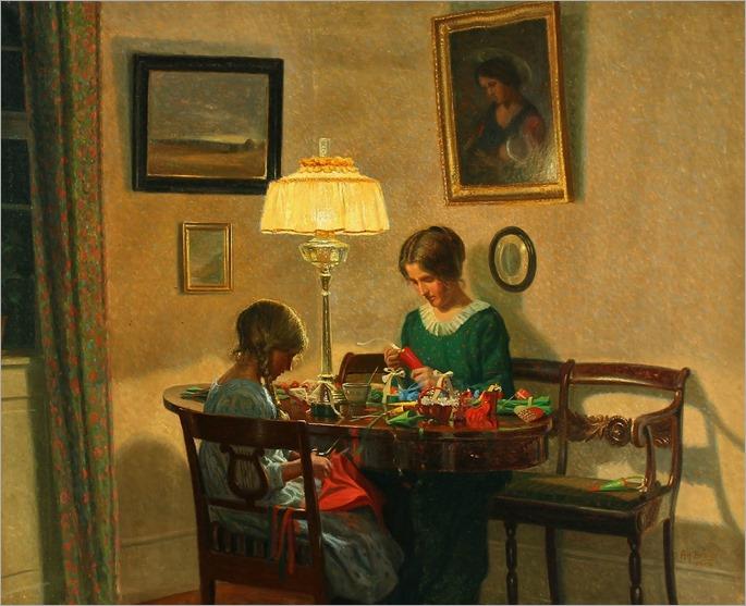 Karl Harald Alfred Broge (danish, 1870-1955)
