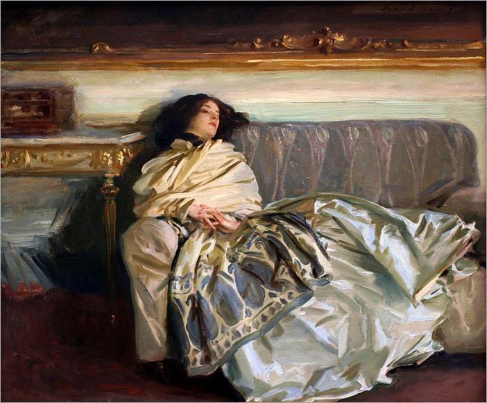 Nonchaloir(Repose) - John Singer Sargent (american painter)